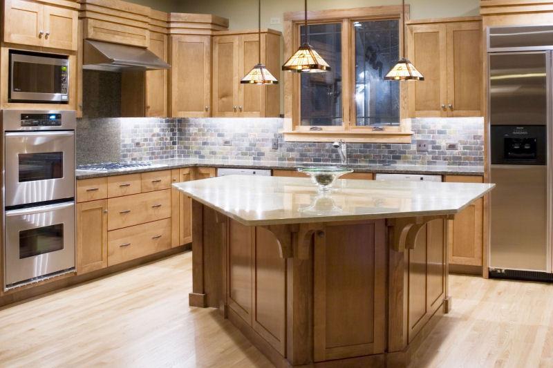 Kitchen Cabinets Custom Made Solid Wood Mahogany Teak Pine Beech