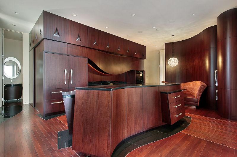 Mahogany Wood Kitchen Cabinets Zitzat